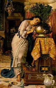 Just one depiction of Isabella, by Holman-Hunt