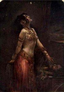 Salome (2) by Leopold Schmutzler