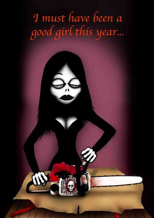 Have a Very Scary Christmas, Darklings x