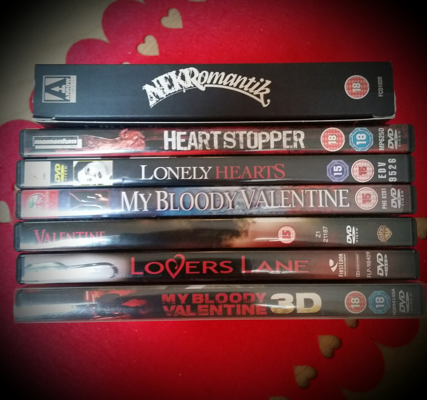 NEKRomantik U2013 Arrow Films, Heartstopper (2006), Lonely Hearts (2006), My  Bloody Valentine (1981), Valentine (2001), Loveru0027s Lane (2000), My Bloody  Valentine ...