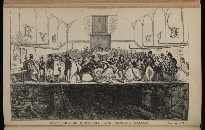 Enon Chapel - Cemetery and Dancing Saloon (Wellcome Images)