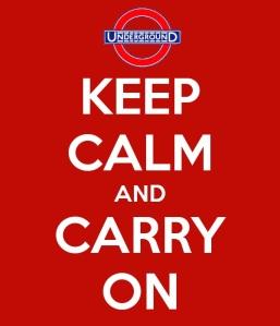 Keep Calm Tube